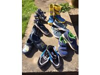 Selection of children's size 12 shoes (7 pairs)