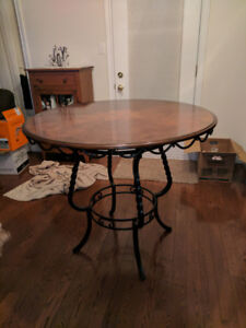 Dining Bistro Table With 4 Chairs