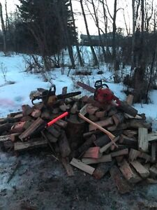 Cheapest Seasoned Tamarack Firewood - Split + Free Delivery
