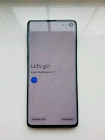 Samsung Galaxy S10 SM-G973F - 128GB - Prism Blue (Unlocked) (Dual SIM)