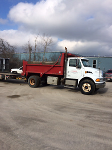2007 Sterling Actera single axle dump truck for sale