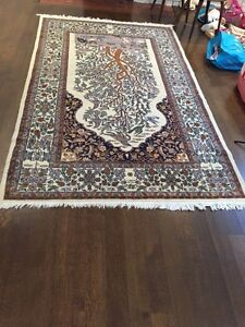 Whimsical Forest Themed Persian Rug