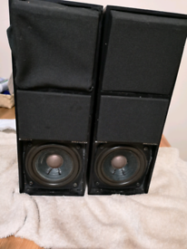 Bang Olufsen C 75 speakers for parts vintage