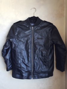Boys Kenneth Cole Reaction Faux Leather Jacket
