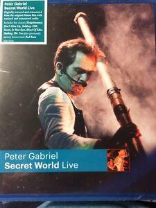 Peter Gabriel Secret World Bluray West Island Greater Montréal image 1