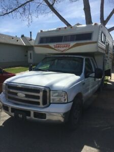 2007 f 250 with Vanguard camper for sale or trade
