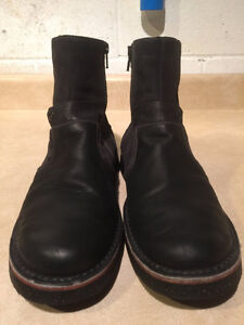 Men's Josef Seibel Leather Zipper Boots Size 9 London Ontario image 5
