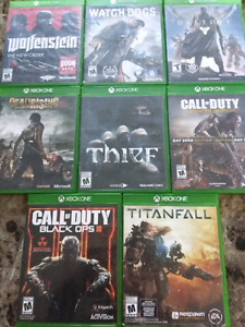 Xbox One games priced individually or $55 takes all 8