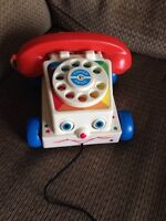 Fisher Price vintage style phone
