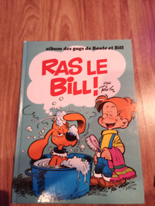 Lot de bande dessinées Boule et Bill