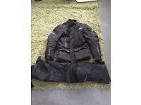 RST motorbike textile suit