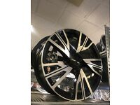 "18"" alloy wheels Alloys Rims tyre tyres 5x120 120 pcd BMW 1 2 3 series vauxhall insignia"