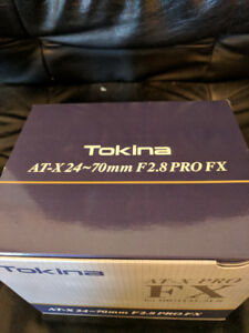 Tokina AT-X 24-70 MM F2.8 PRO FX Lens for Canon Tokina