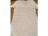 Diamond white women's t-shirt