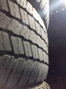 LT265/60/R20 GOODYEAR SRA E RATED TIRES