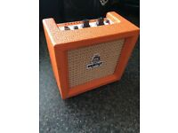 Orange micro crush mini amp
