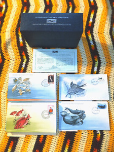 Stamps of the Sea Collection - Cousteau Society First Day Covers