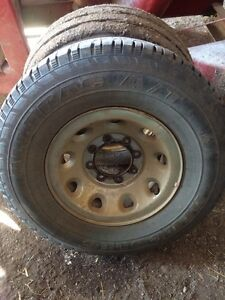 Super Duty 16 inch tires and rims