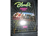 BLONDIE/ DEBBIE HARRY 1980 EUROPEAN TOUR PROGRAMME LOTS OF PICTURES have other blondies stuff