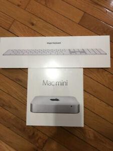 Brand New unopened Apple Mac Mini + Magic Keyboard i5 8GB 1TB HD