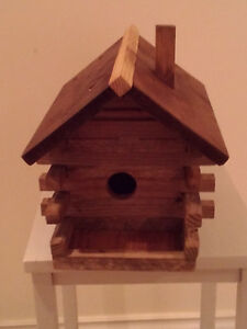 One of a Kind Bird Houses / $ 25.00 and up
