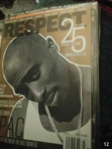 Respect magazines 1 collectable 2pac issue