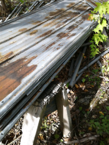 Used roofing steel for sale. I have 15 sheets