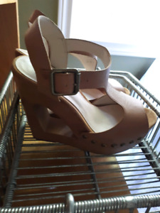 Aldo wedge/high heel dress up shoes-$15