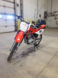 CRF 150f big wheel electric start