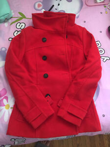 RED COAT FOR WOMAN