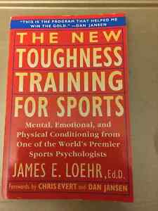 Sports book - The New Toughness Training for Sports Kitchener / Waterloo Kitchener Area image 1