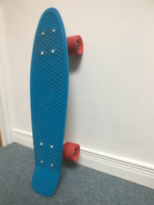 Blue/Red Penny Board - Great Condition