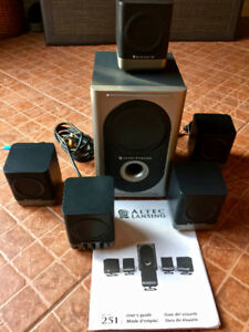Altec Lansing 5.1 Computer Surround Sound Speaker System