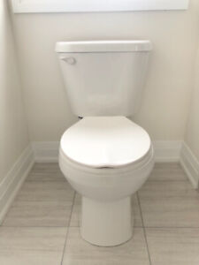 Brand New American Standard toilet, sink and faucet