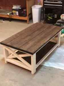 Rustic x/Farmhouse style coffee table Regina Regina Area image 1
