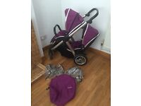 Oyester max double pushchair