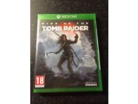 Rise of the tomb raider Xbox one game brand new and sealed