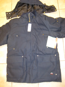 New Tough Duck Antarctica men's overalls with jacket, size Large