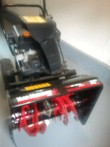 MTD snowblower 22 in cut