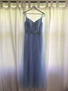 Pastel blue BRIDESMAIDS dress or GRAD dress