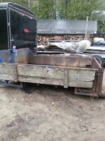 9'x7' Dump Box with Tailgate