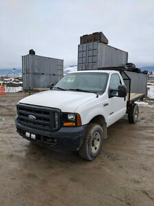 2007 Ford F-350 XL Chassis Cab Diesel Flat Deck
