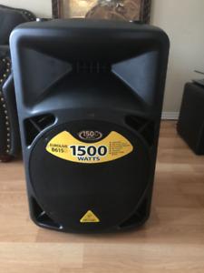 Behringer B615D Eurolive Speaker 1500 watts