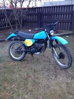 1978 Yamaha IT motocross 175 cc