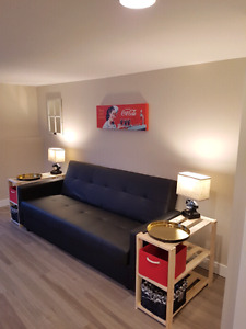 Fully furnished, can sleep up to 4