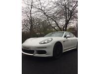 Porsche Panamera 3.0 TD V6 Tiptronic 5dr 2013 /63 reg/ White / Porsche Warranty