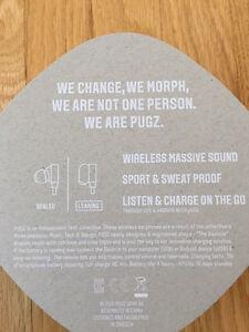 PUGZ Bluetooth Earbuds Kitchener / Waterloo Kitchener Area image 5