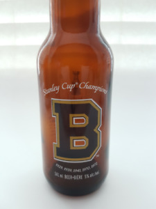 Boston Bruins Labatt's Blue Stanley Cup Bottle