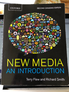 NEW MEDIA, AN INTRODUCTION, FOR SALE