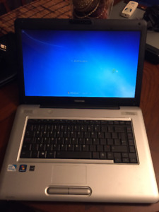 Toshiba Satellite L450 - Windows 7